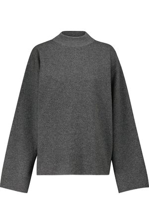 The Row Dame Strikkegensere - Daverio cashmere and silk sweater