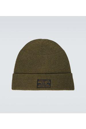 RRL Herre Capser - Knitted stretch-cotton watch cap