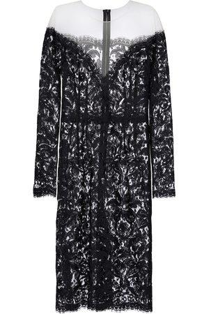 Dolce & Gabbana Dame Midikjoler - Heartneck lace dress