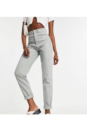 ASOS ASOS DESIGN Tall high rise 'slouchy' mom jeans in sage-Green