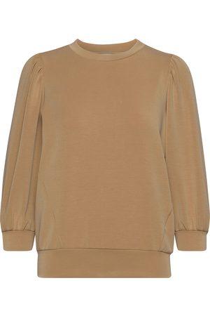 SELECTED Dame Sweatshirts - Slftenny 3/4 Sweat Top Sweat-shirt Genser