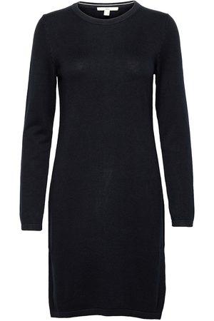 Esprit Dresses Flat Knitted Knelang Kjole