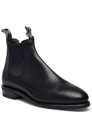 R.M.Williams Adelaide D Yearling Black 6+ Shoes Chelsea Boots
