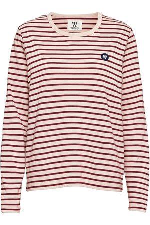 WoodWood Moa Long Sleeve T-shirts & Tops Long-sleeved Multi/mønstret