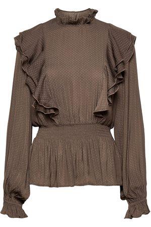 Bruuns Bazaar Dame Bluser - Prickly S Suzette Blouse Bluse Langermet