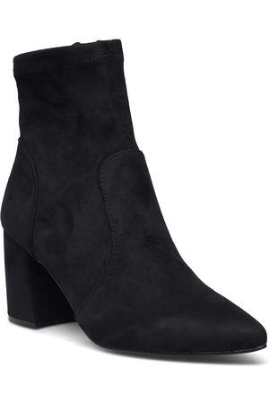 Steve Madden Nitrate Bootie Shoes Boots Ankle Boots Ankle Boot - Heel