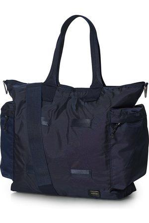 PORTER-YOSHIDA & CO Herre Tote bags - Force 2Way Tote Bag Navy Blue