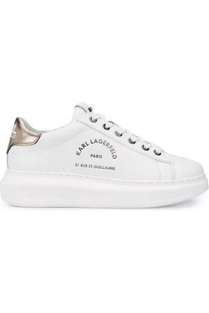 Karl Lagerfeld Dame Sneakers - Kapri logo low-top sneakers