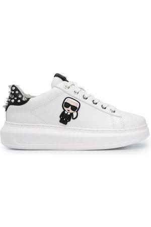 Karl Lagerfeld Dame Sneakers - Karl motif low-top sneakers