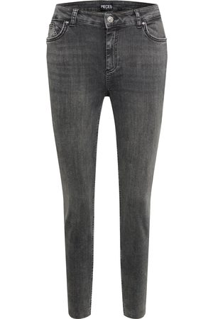 PIECES Curve Dame Straight - Jeans 'Delly