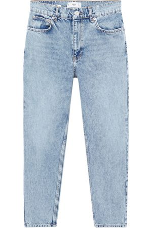 MANGO Dame Straight - Jeans 'Mom80