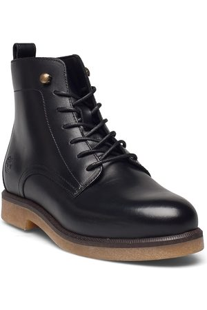 Timberland Dame Skoletter - Cambridge Square Lace Up Bootie Shoes Boots Ankle Boots Ankle Boot - Flat