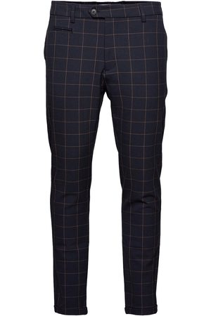 Les Deux Como Check Suit Pants Uformelle Bukser Hverdagsbukser