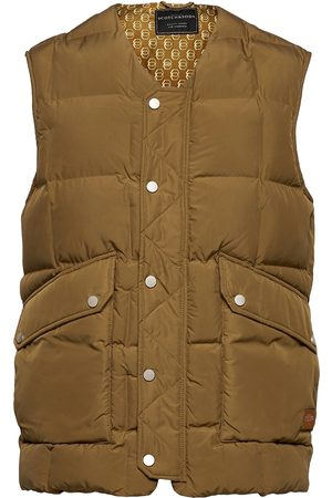 Scotch&Soda Nylon Quilted Bodywarmer Vest Brun