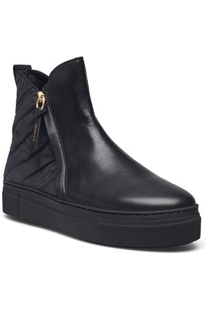 GANT Vanna Mid Zip Boot Shoes Boots Ankle Boots Ankle Boot - Flat