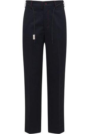 Marni Herre Chinos - Straight Leg Cotton Twill Chino Pants