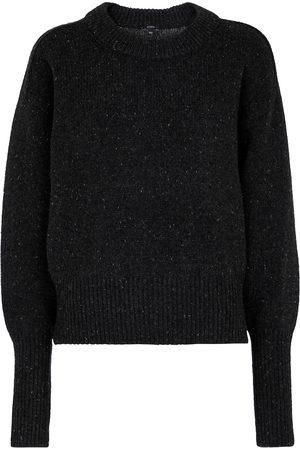 Joseph Dame Strikkegensere - Tweed merino wool sweater