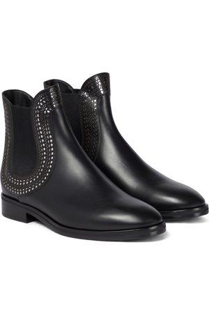 Alaïa Dame Skoletter - Leather ankle boots