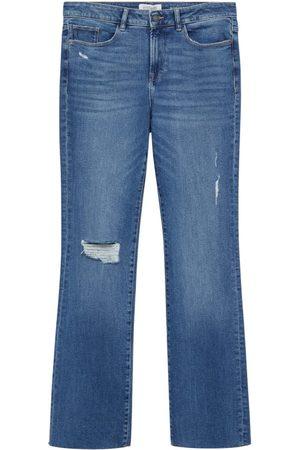 MANGO Dame Bootcut - Jeans 'Martha