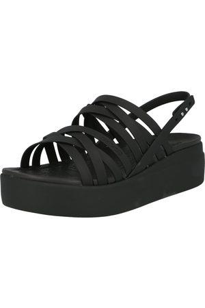 Crocs Dame Høyhælte sandaler - Stroppsandal 'Brooklyn