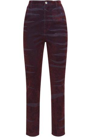 KOCHÉ Slim Fit High Rise Jeans