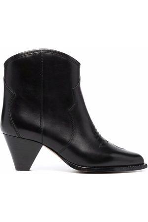 Isabel Marant Dame Skoletter - Embroidered ankle boots