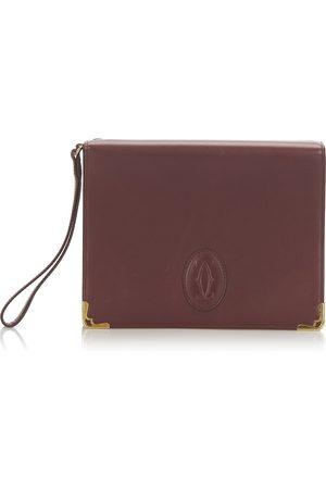 Cartier Pre-owned Must De Cartier Leather Clutch Bag