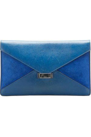 Céline Pre-owned Diamond Clutch Bag Leather Calf