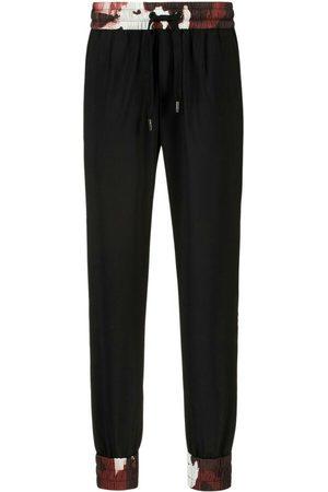 Dolce & Gabbana Jogginghose mit Seitenstreifen in Schwarz