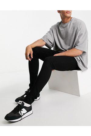 LDN DNM Herre Skinny - Super skinny fit jeans in black wash