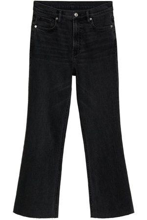 MANGO Dame Bootcut - Jeans 'Sienna