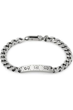 Gucci Ghost chain bracelet in silver