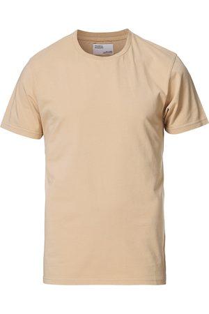 Colorful Standard Herre Kortermede - Classic Organic T-Shirt Honey Beige