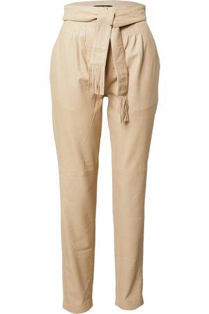 Ibana Dame Bukser - Plissert bukse 'PETRA