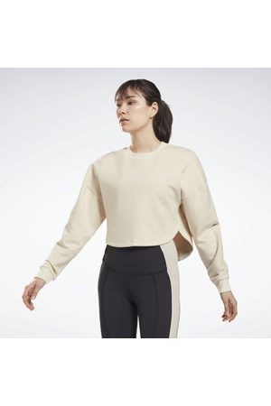 Reebok Dame Sweatshirts - DreamBlend Cotton Midlayer Sweatshirt