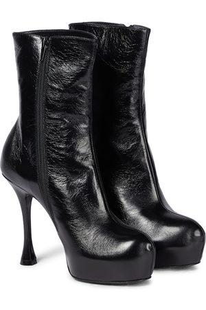 MAGDA BUTRYM Dame Skoletter - Platform leather stiletto boots