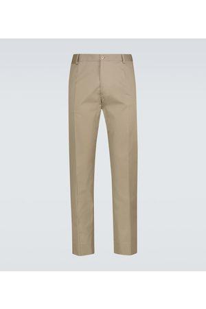 Dolce & Gabbana Herre Chinos - Stretch-cotton pants