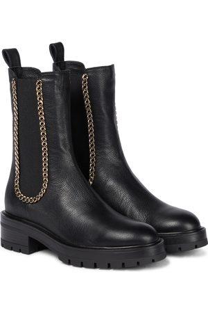 Aquazzura Dame Skoletter - Mason leather Chelsea boots