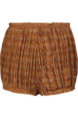 Khaite Hilary high-rise shorts