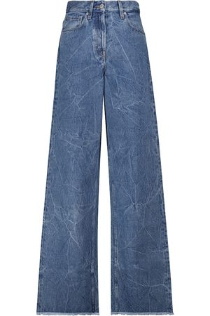 DRIES VAN NOTEN High-rise wide-leg jeans