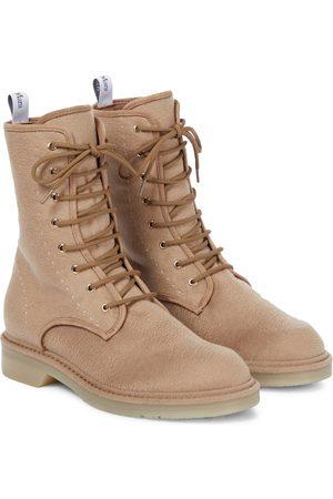 Max Mara Baker felt ankle boots