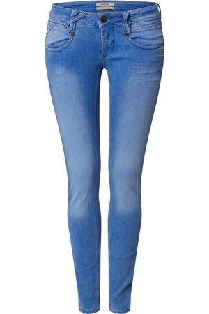 Gang Dame Skinny - Jeans 'NENA - ellectric summer denim SKINNY