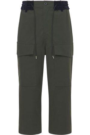 SACAI Herre Cargobukser - Cotton Oxford Cargo Pants