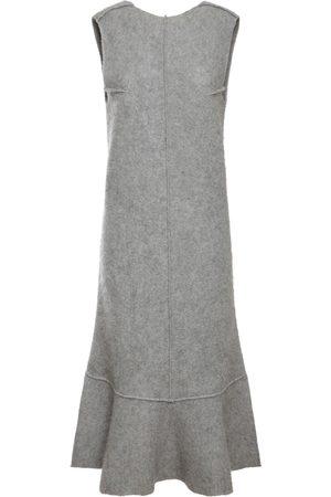 Jil Sander Dame Strikkede kjoler - Wool Blend Knit Dress