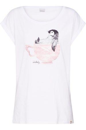Iriedaily Dame Kortermede - Skjorte 'Pingulax Tee