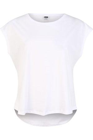Urban Classics Curvy Dame Kortermede - Skjorte 'Shaped Tee