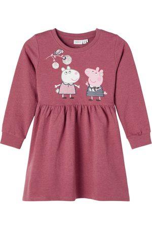 NAME IT Barn Kjoler - Kjole 'Peppe Pig Sanna