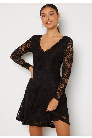 BUBBLEROOM Shione Lace Dress Black XS