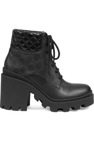 Gucci Dame Skoletter - GG Supreme ankle boots