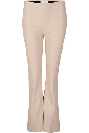 Dante 6 Dame Skinnbukser - Leather Trousers Tyson Crop Flare
